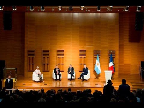 Visita del Presidente de Francia al Polo Científico Tecnológico