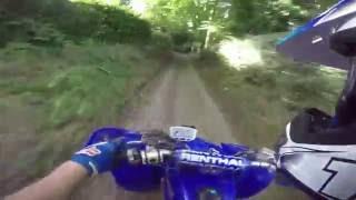 5. Top Speed Yamaha Raptor 660 Byway Run