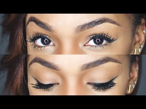 THE PERFECT WINGED LINER (Makeup for Beginners)