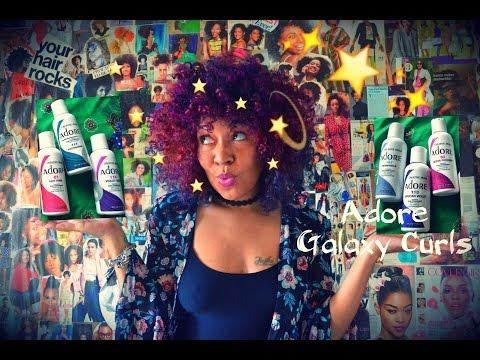 Natural Colored Hair | Adore Galaxy Curls
