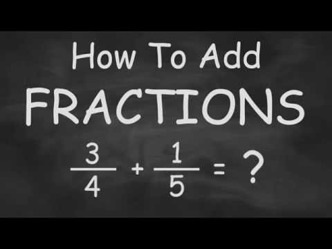 How To Add Fractions - Fast and Easy fraction addition