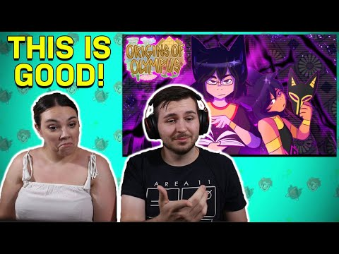 ORIGINS OF OLYMPUS SEASON 2 REACTIONS WITH MY FIANCE?!