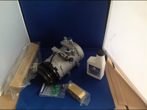 03-06 Kia Sorento 3.5 Auto AC Compressor Kit-Air Conditioning Pump Part