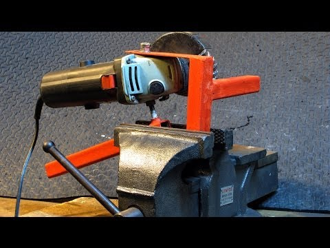 My Favorite Home Made Tool. Get more out of your Grinder, easy tools to make