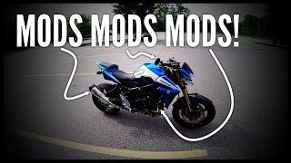 6. 2015 Suzuki GSX-S750 Mods Overview