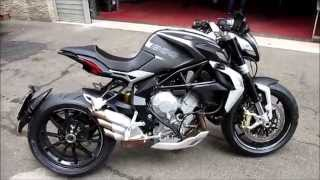 5. MV Agusta Dragster 800 Start up and Sound