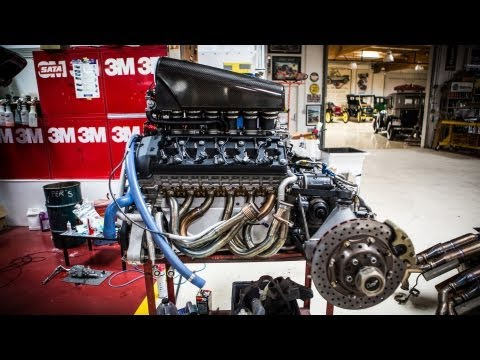 F1 - Ever wonder what the McLaren F1's engine looks like up close when it's not in a car? Well, today's your lucky day! Subscribe NOW to Jay Leno's Garage: http:/...
