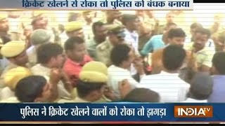 Dausa India  City new picture : Rajasthan: Mob Attacks Police for Stopping Them to Play Cricket in Dausa