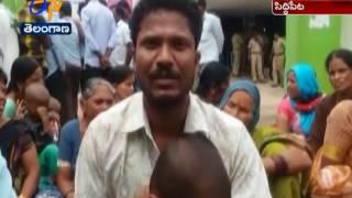 Women Dies at a Private Hospital  Relatives Stages Protest  Siddipet ...