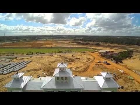 December 5th Building Progress - Encore Resort Fly Over
