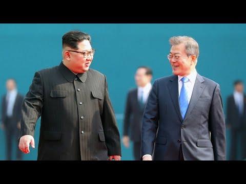 Kim Jong-un bei Moon Jae-in: Der Beginn einer neuen Ära