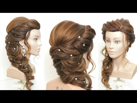 Hairstyles for long hair - New Bridal Prom Hairstyle For Long Hair. Step By Step