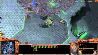 Starcraft 2: Heart of the Swarm 3v3 Ladder Blue - Kenshin (Z) Red - CerealBoster (T) Teal - Polyphony (P)