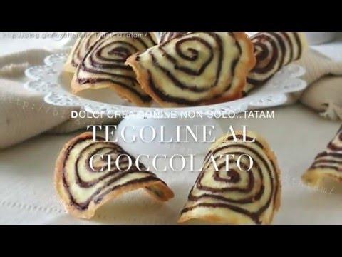 tegoline al cioccolati: pasticcini golosi con soli albumi