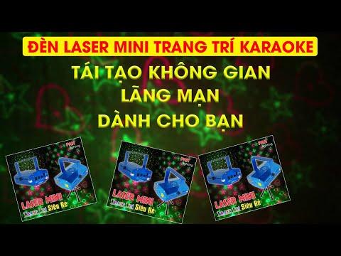 Máy chiếu Laser chấm bi mini siêu rẻ