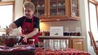 How to Freeze Strawberry Jam