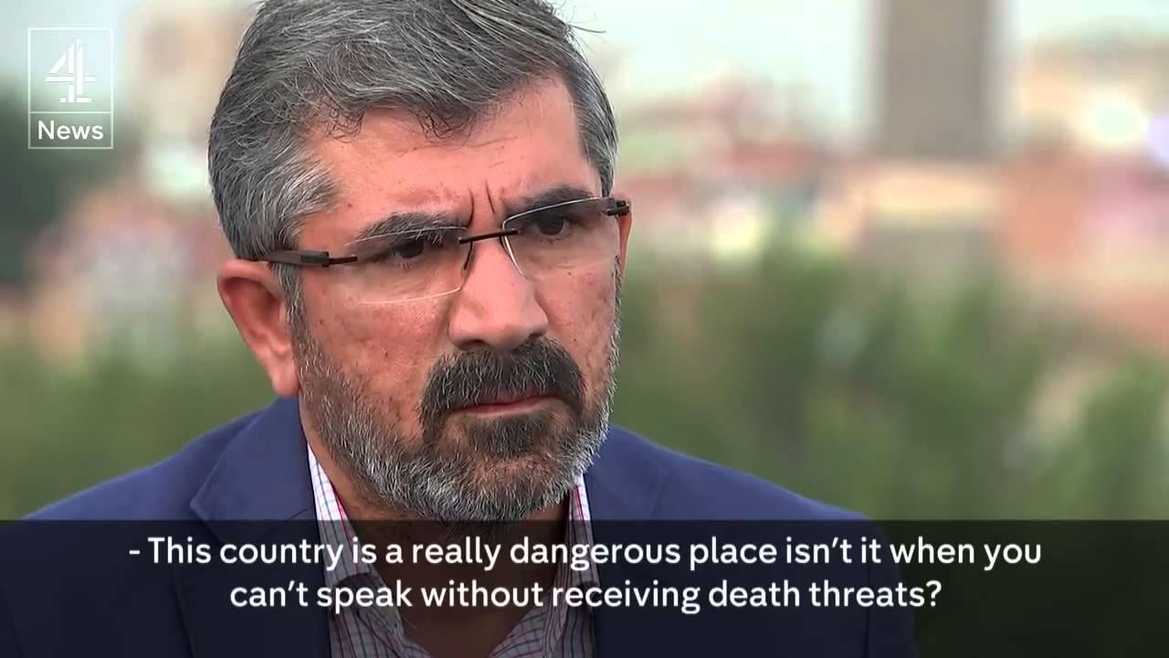 Ο Ταχίρ Ελτσί για τις απειλές κατά της ζωής του