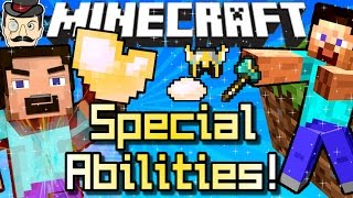 Minecraft SPECIAL ABILITIES&POWERS! Charge Up&Unleash!