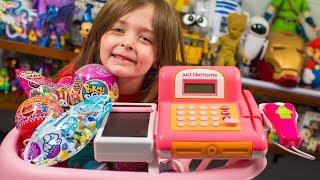Video HUGE Toy Shopping Cart Surprise Toys for Kids Girls Blind Bags & Surprise Eggs Kinder Playtime MP3, 3GP, MP4, WEBM, AVI, FLV Oktober 2018