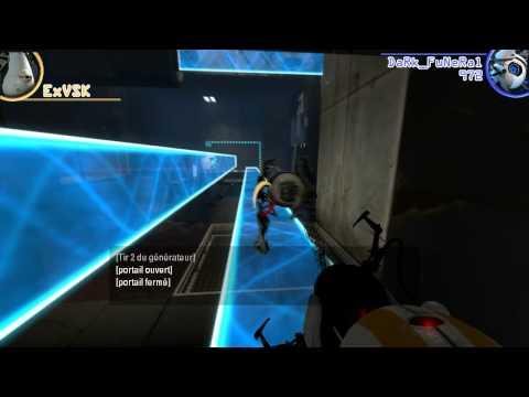 Portal 2 Coop - Chapitre 3 - ExVSK & DaRk_FuNeRaL