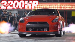 Underdog GTR Battles 3000HP Lambos! (10,000HP Worth of Nissan GTRs) by  That Racing Channel