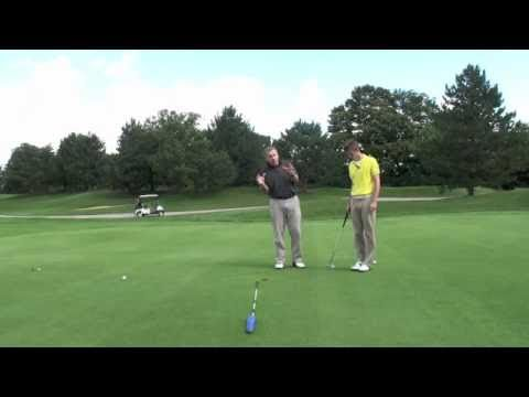 Shawn Clement Golf Pro Lesson Putting with Matt; Read Them Right!
