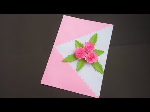 Birthday greetings - DIY:Handmade Birthday Card!! How to Make Beautiful Paper Card for birthday/Greetings/Valentine day!!