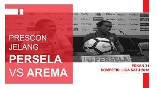 Download Video KOMENTAR COACH AJI SEBELUM PERTANDINGAN PERSELA VS AREMA PEKAN 31 LIGA SATU 2018 MP3 3GP MP4