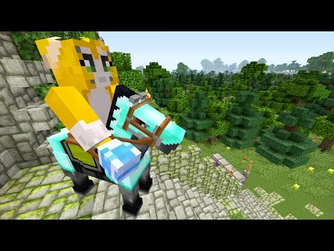 Minecraft Xbox – The Lost Sword – Horsing Around {10}