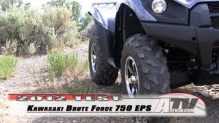 1. ATV Television - 2012 Kawasaki Brute Force 750 EPS Test