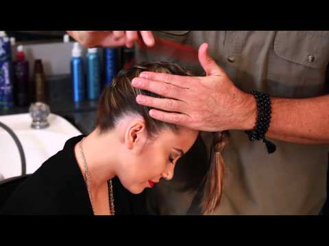 upside down french braid - http://deanbanowetz.com/ Hi everyone! It's Dean Banowetz. I'm going to show you how to create the Upside down French braid. It's quick and easy, yet sophisti...