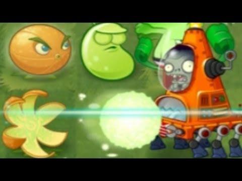 Plants vs. Zombies 2: Far Future Invasion Pinata! CITRONS!