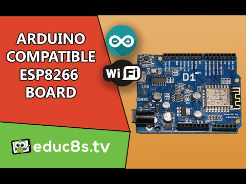Arduino UNO With Built-in ESP8266 WiFi Chip Into