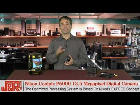 Nikon Coolpix P6000 13.5 Megapixel Digital Camera - JR.com