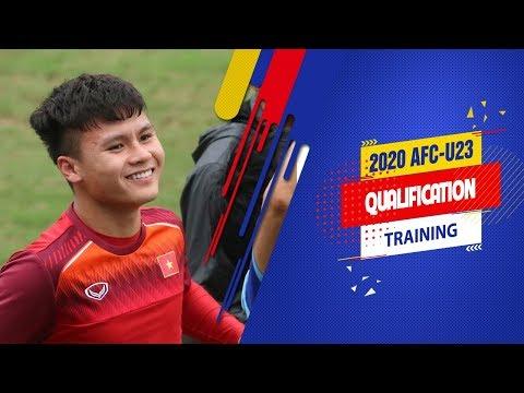 Buổi tập rộn rã tiếng cười của U23 Việt Nam trước thềm trận đấu với U23 Thái Lan | VFF Channel - Thời lượng: 2 phút, 26 giây.
