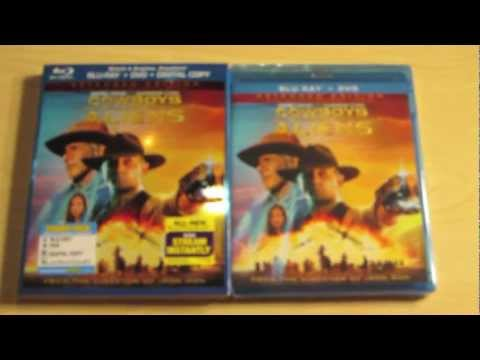 The Help - The Hangover Part II - Cowboys & Aliens Blu-ray Unboxing
