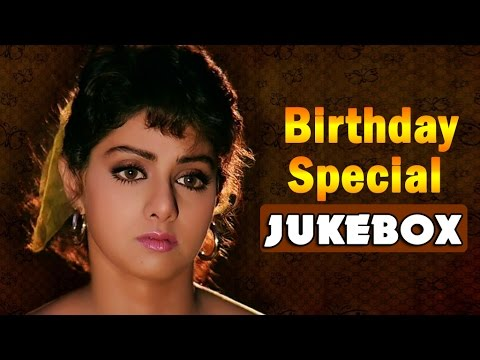 Actress Sridevi Super Hit Video Songs Jukebox    Back to Back Video Songs