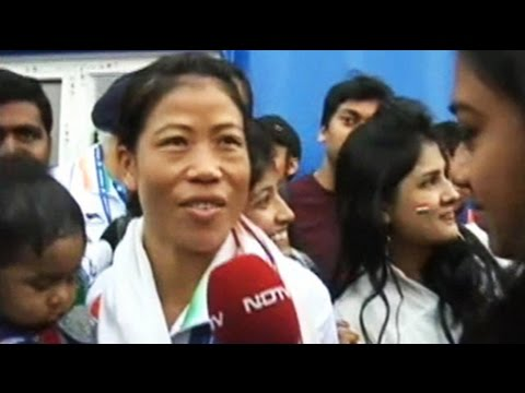 Mary - Mary Kom said it was her passion for boxing that drove her towards winning a gold for India in the Incheon Asian Games. Saying it was difficult to return to competitive boxing after becoming...