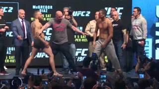 Nonton UFC 196: McGregor vs. Diaz Faceoff Film Subtitle Indonesia Streaming Movie Download