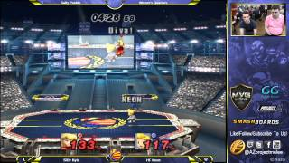 HF Neon (Lucas) vs Silly Kyle (Peach) Winners Quarters at Salty Pueblo