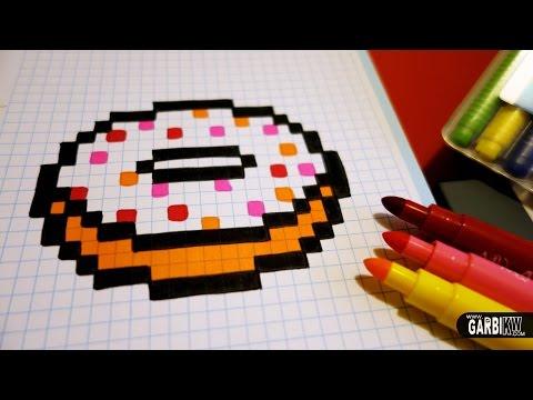 Handmade Pixel Art - How To Draw a Kawai - Youtube Downloader mp3