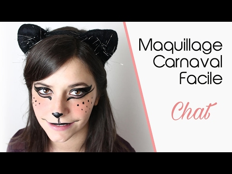 Maquillage Carnaval facile
