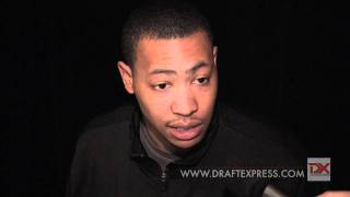 Andrew Goudelock Draft Combine Interview