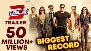 Video RACE 3 TRAILER CROSSES 50 MILLION + VIEWS   HISTORY CREATED   Salman Khan MP3, 3GP, MP4, WEBM, AVI, FLV Mei 2018