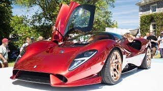 De Tomaso P72: This Gorgeous Thing Costs €750k : 2019 Goodwood FoS | Carfection by Carfection