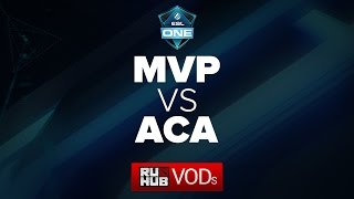 AcA vs MVP Phoenix, game 1