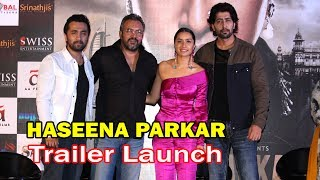 Shraddha Kapoor, Siddhant Kapoor at Haseena Parkar Official Trailer Launch in Mumbai.Click this below link and subscribe to our channel to get all updates on Bollywood Movies, and your favorite Bollywood actresses and actors.http://goo.gl/cfijvC
