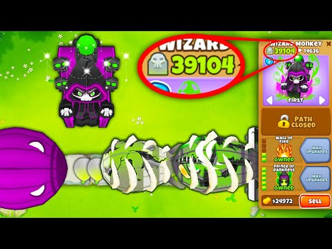 The ULTIMATE Prince of Darkness?! AMAZING Wizard Monkey Upgrade!