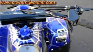 6. PRO ATV Spec-C 110cc Yamaha Raptor Clone ATV
