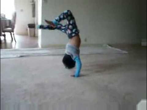 Dziecko Break Dance Hip hop wymiatacz